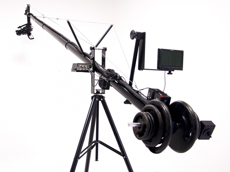 Grua para Filmar Francisco Morato - Grua para Estúdio Fotográfico